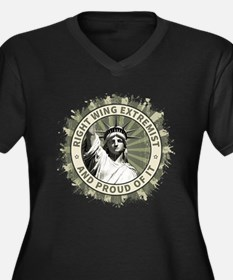 Right Wing Extremist Plus Size T-Shirt