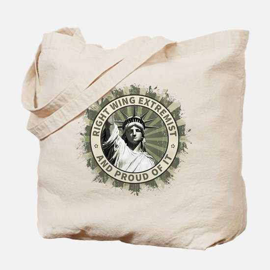 Right Wing Extremist Tote Bag