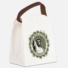 Right Wing Extremist Canvas Lunch Bag