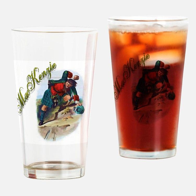 Clan MacKenzie Drinking Glass