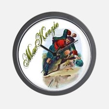 Clan MacKenzie Wall Clock