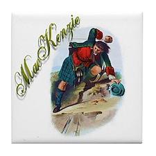 Clan MacKenzie Tile Coaster