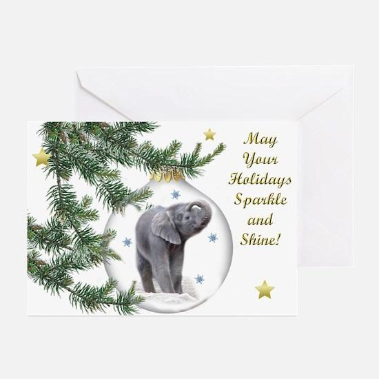 Hello Christmas Greeting Cards
