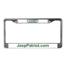 Jeep Patriot License Plate Frame