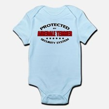 Airedale Terrier Security Infant Bodysuit