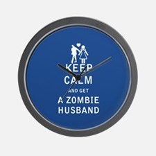 Keep Calm and Get a Zombie Husband - FULL Wall Clo