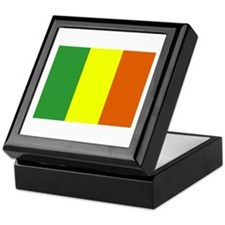 Mali Flag Keepsake Box