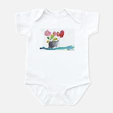 Watercolor Flower Infant Bodysuit