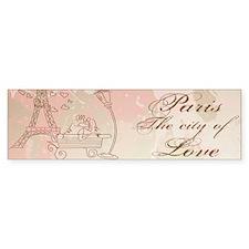 Paris - Eiffel Tower Bumper Bumper Sticker