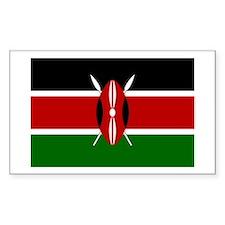 Kenya Rectangle Decal