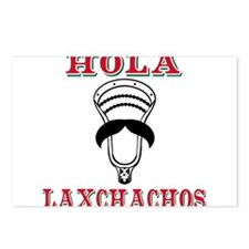 Lacrosse HOLA Laxchachos Postcards (Package of 8)