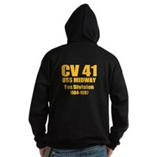Personalized USS Midway CV-41 Hoodie