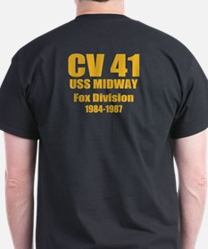 Personalized USS Midway CV-41 T-Shirt