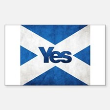Yes Scotland flag Decal