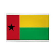 Guinea-Bissau Rectangle Magnet