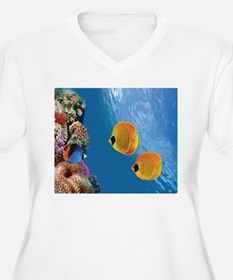 Coral Colony Plus Size T-Shirt