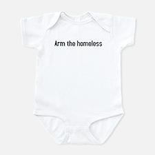 arm the homeless Infant Bodysuit
