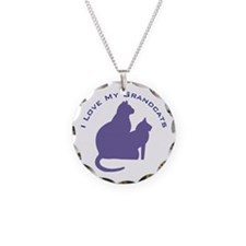 I Love My Grandcats 111 Necklace