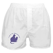 I Love My GrandCats 111 Boxer Shorts