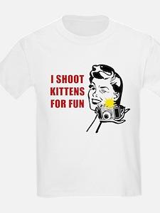 I Shoot Kittens T-Shirt