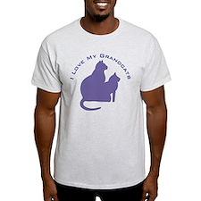 I Love My GrandCats 111 T-Shirt