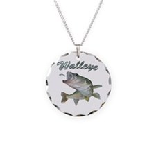 Walleye Turning Up Necklace