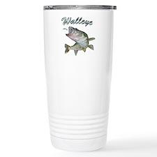 Walleye Turning up Travel Mug