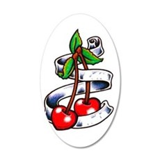 Tatt Cherry Sketch Wall Decal