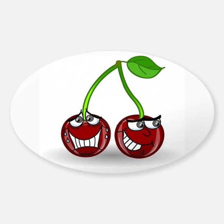 Sneeky Cherries Decal