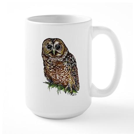 Large Spotted Owl Mug