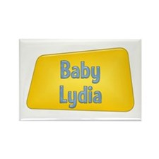 Baby Lydia Rectangle Magnet