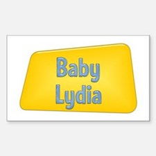Baby Lydia Rectangle Decal