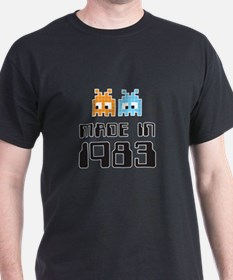 Made In 1983 Retro Arcade Character T-Shirt