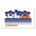 California Rectangle Sticker
