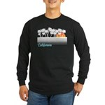 California Long Sleeve Dark T-Shirt
