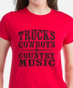 Trucks, Cowboys, and Country Music T-Shirt