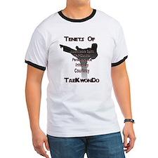 Traditional Taekwondo Tenants T-Shirt