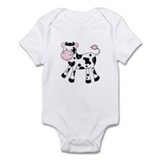 Black And White Dairy Cute Cow Body Suit
