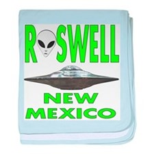 Roswell new mexico.png baby blanket