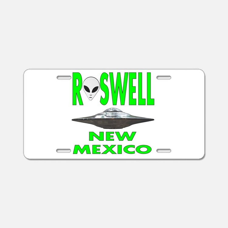 Roswell New Mexico.png Aluminum License Plate