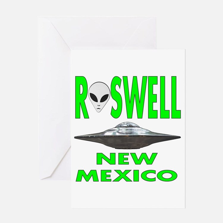 Roswell New Mexico.png Greeting Cards