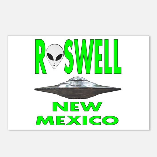 Roswell New Mexico.png Postcards (package Of 8)