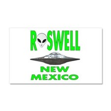 Roswell New Mexico.png Car Magnet 20 X 12