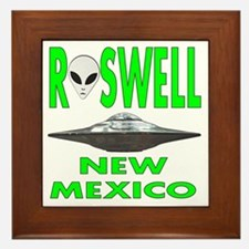 Roswell New Mexico.png Framed Tile