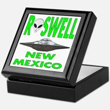 Roswell New Mexico.png Keepsake Box