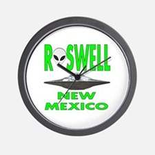 Roswell New Mexico.png Wall Clock