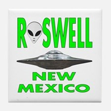 Roswell New Mexico.png Tile Coaster
