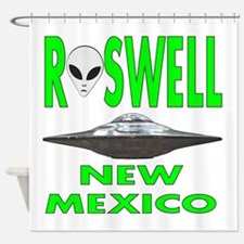Roswell New Mexico.png Shower Curtain