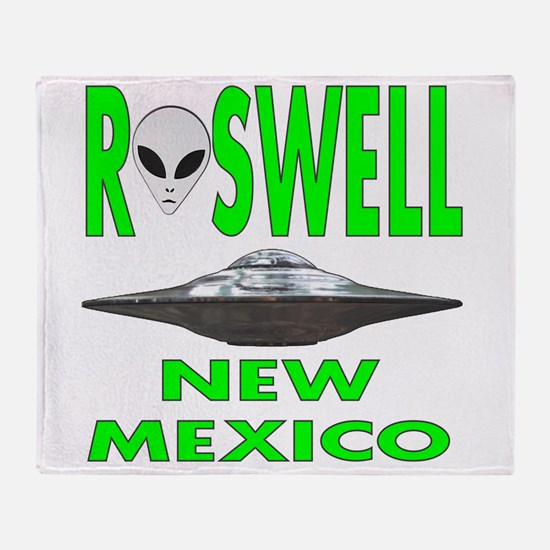 Roswell New Mexico.png Throw Blanket