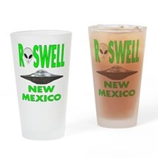Roswell New Mexico.png Drinking Glass